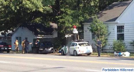 Google Street View Car In Wrong-Way Crash | The Smoking Gun