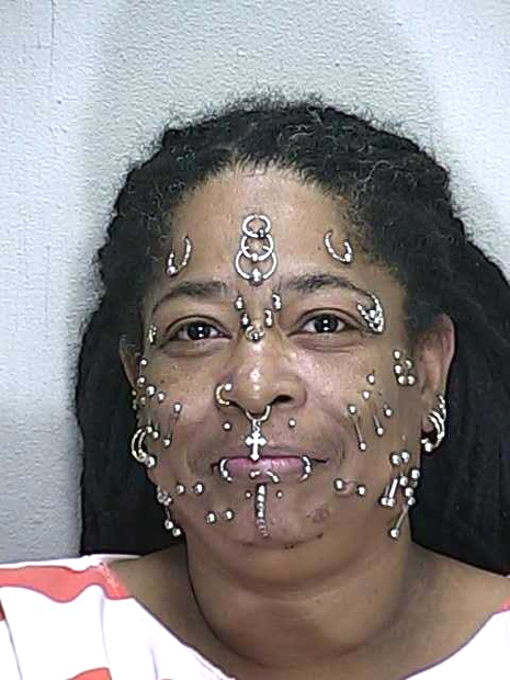Heavily Pierced Florida Woman, 52, Gets Popped On ...