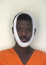 Arrested for domestic violence, battery, and false imprisonment.