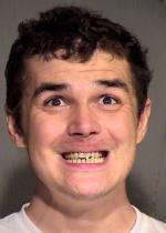 Arrested for trespass, criminal damage.