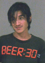 Arrested for public drunkenness, trespassing.