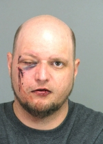 Arrested for trespassing, disorderly conduct.