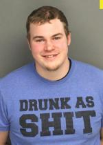 Arrested for DUI, reckless endangerment, strangulation, and harassment.