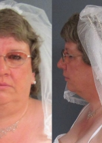 Tammy Lee Hinton, 50, was arrested at a Michigan church on her wedding day in mi