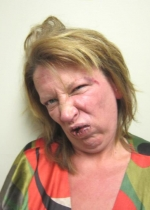 Arrested for disorderly conduct, refusal to submit to arrest.