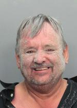 Arrested for battery, resisting an officer.