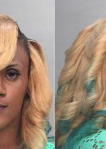 Arrested for prostitution.