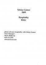 Selena Gomez Rider