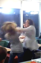 Denny's Fight