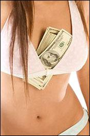 Bra With Money