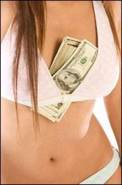 Bra With Money