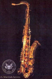 Bill Clinton saxophone
