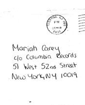 Open Letter to Mariah Carey