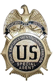DEA badge