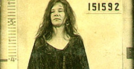 Janis Joplin mug shot