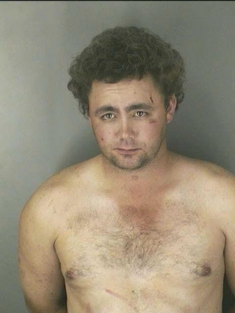 Topless Men MUG SHOT   The Smoking Gun