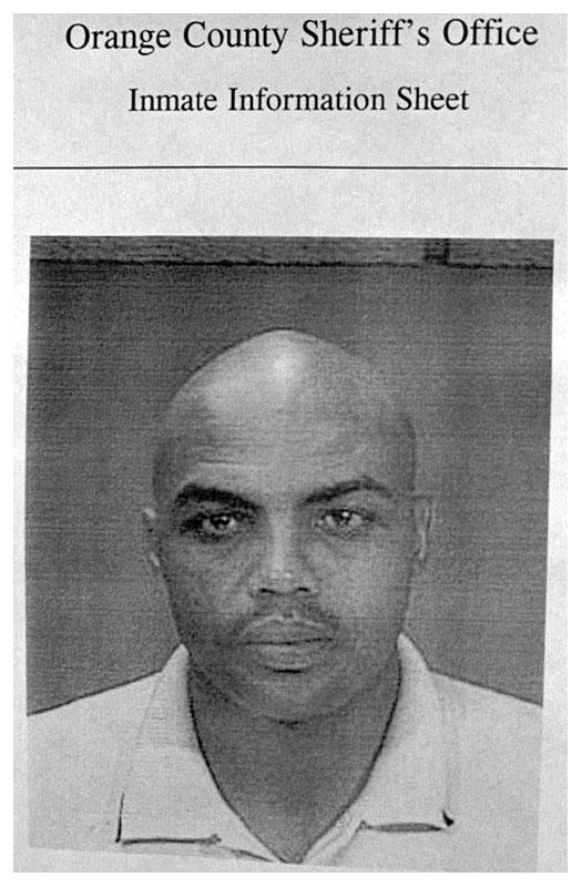 Charles barkley 39 97 mug shot the smoking gun - Orange county sheriffs office florida ...