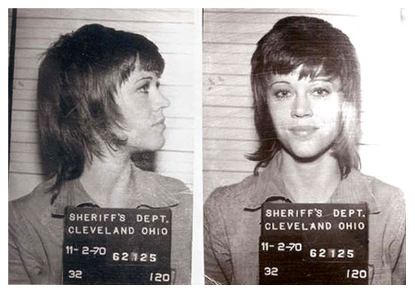Jane Fonda 11/70 MUG SHOT | The Smoking Gun