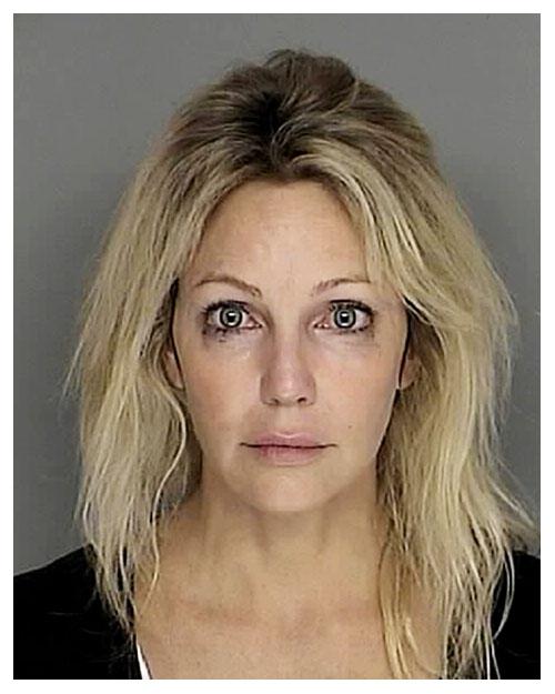 Heather Locklear MUG SHOT | The Smoking Gun