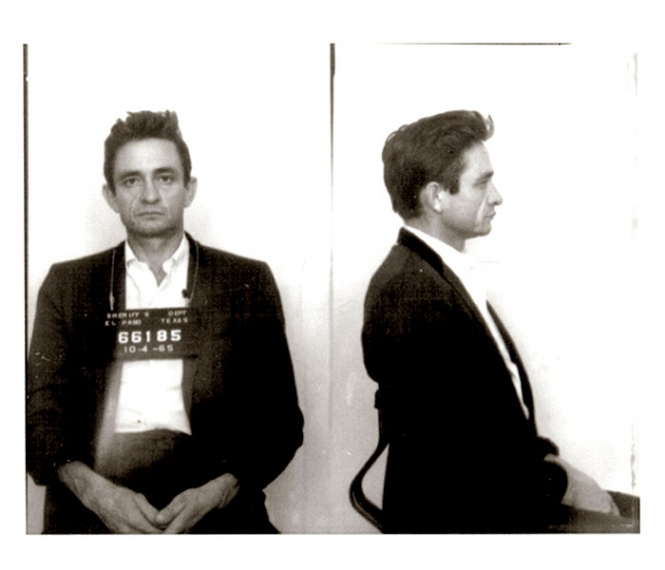 Johnny Cash mug shot
