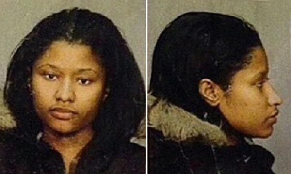 Nicki Minaj mug shot