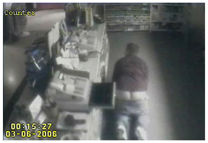 Hapless Burglar Bottoms Out