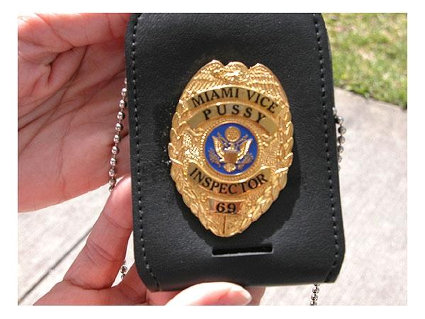 Fake Cop Nabbed With Naughty Badge The Smoking Gun