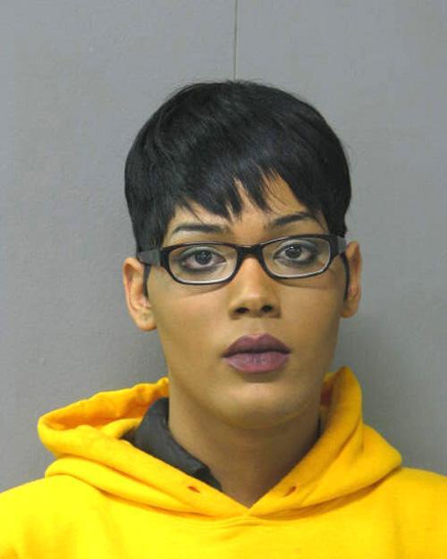 Arrested for being a fugitive.