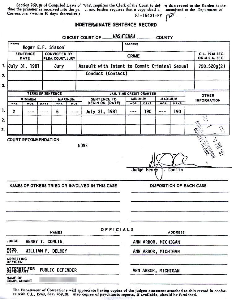 Celebrity arrest records