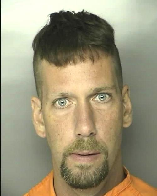 Arrested for driving under suspension.