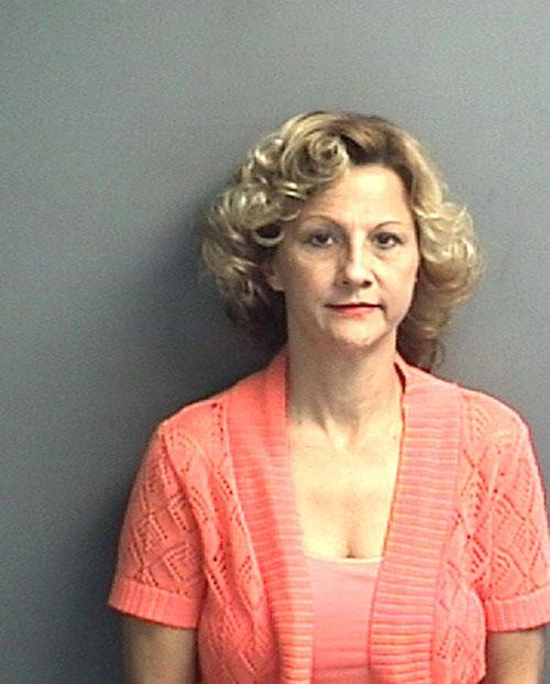 Arrested for larceny.