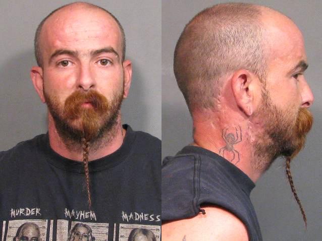 Arrested for drug possession, obstruction of justice.
