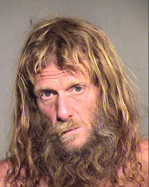 Arrested for resisting arrest, trespass.