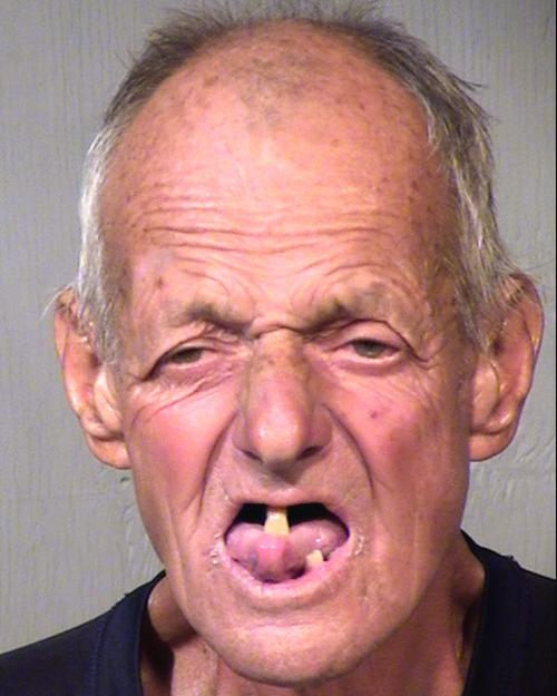 Arrested for littering.