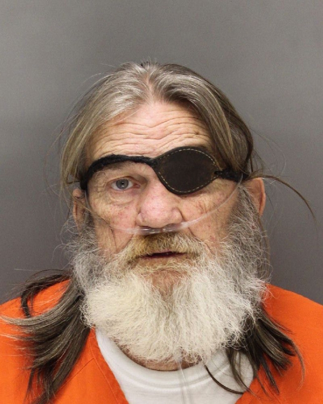 Arrested for receiving stolen property, parole violation.
