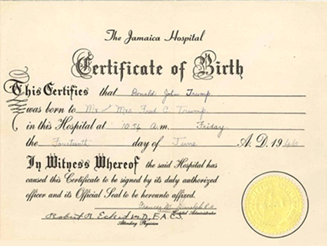 old birth certificate template - Old Birth Certificate Template