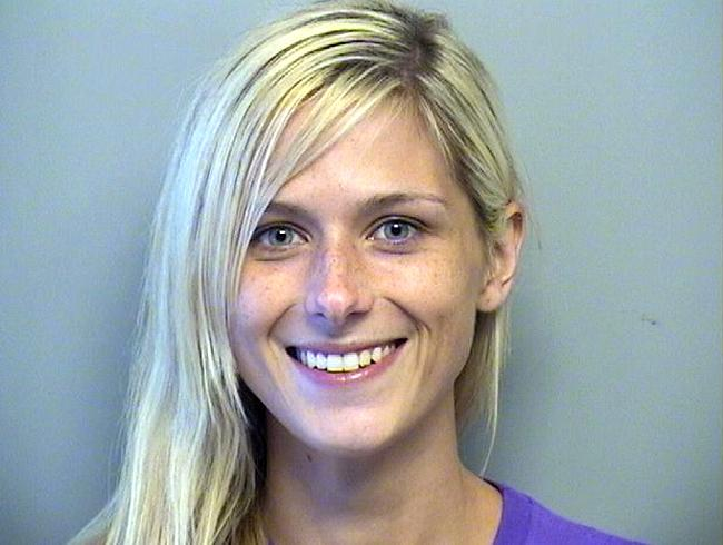 Arrested for failure to pay court costs.
