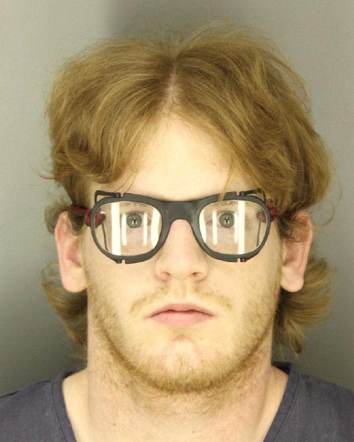 Arrested for possession of child pornography.