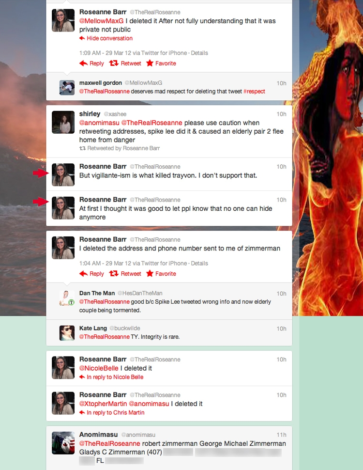 Roseanne Barr Joins Twitter Vigilante Crew | The Smoking Gun - photo#22