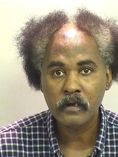 Arrested for domestic violence/harassment.