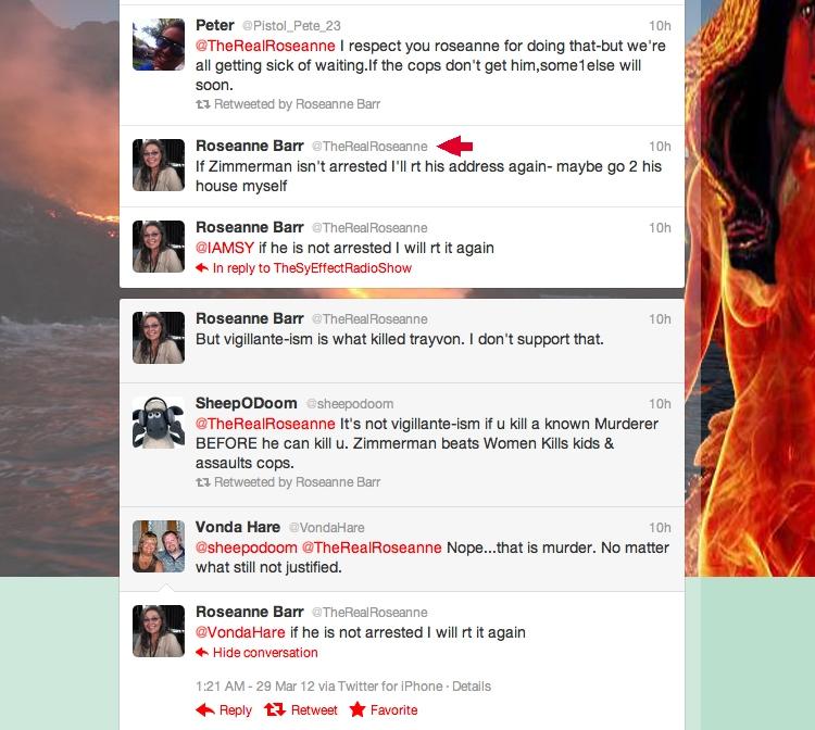 Roseanne Barr Joins Twitter Vigilante Crew | The Smoking Gun - photo#19