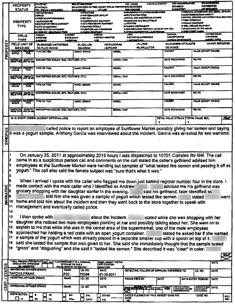 Mock Police Report How to Read a Car Accident Report Atlanta – Police Report Template