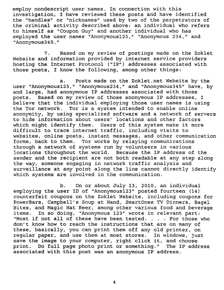 fbi busts 4chan man for extreme couponing the smoking gun