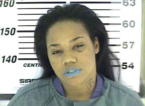 Arrested for having an altered license, probation violation.