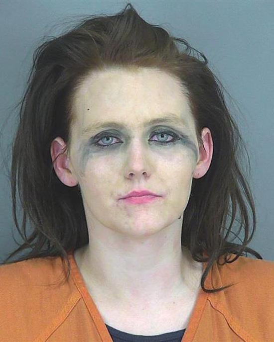 Arrested for providing false information to police.