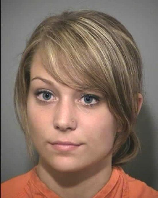 Arrested for being a minor in possession of alcohol.