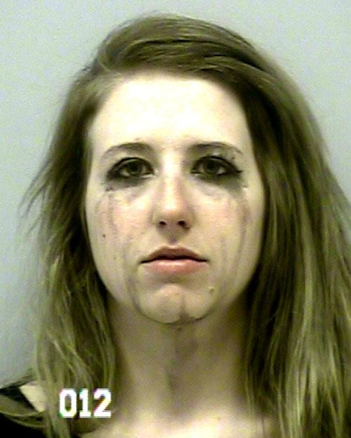 Arrested for underage DUI, driving on the wrong side of the road.