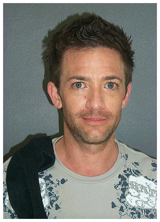 Stupid T Shirts >> David Faustino MUG SHOT | The Smoking Gun