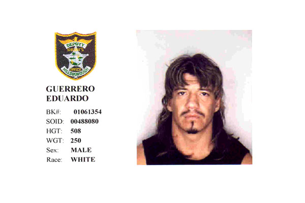 eddie guerrero mug shot the smoking gun