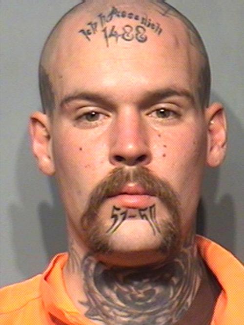 Tattoos MUG SHOT The Smoking Gun